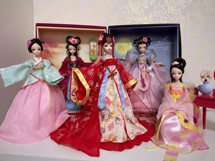 可儿娃娃(kurhn)中国神话系列 小龙女 古装娃娃 女孩玩具生日礼物 10关节体9059 晒单图