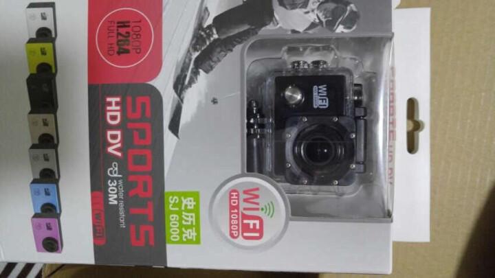史历克运动相机4K水下潜水户外骑行Vlog高清摄像机防水30米航拍行车记录仪2英寸Wi-Fi配件齐全 黑色+8G高速存储卡 晒单图