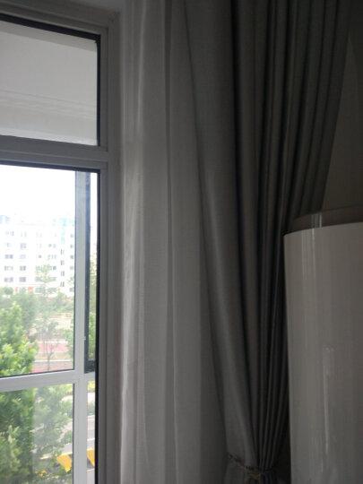 三巧 天使之梦 优质简约十字亚麻窗纱成品可定制 白色 1米纱(做几米买几件) 晒单图