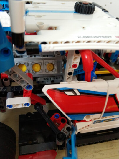 乐高(LEGO)积木 机械组Technic大型斗轮式挖掘机12-16岁 42055 儿童玩具 男孩女孩生日礼物 晒单图