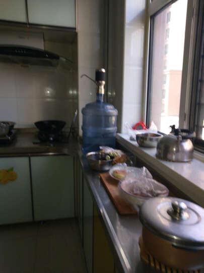 电动抽水器桶装水矿泉水桶抽水器饮水机泵纯净水桶饮用水桶压水器 黑色(省电智能款) 晒单图