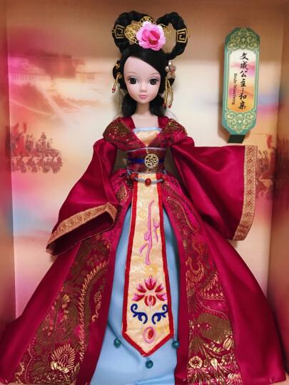 可儿娃娃 嫦娥奔月古装娃娃 过家家换装女孩儿童玩具 六一儿童节礼物 巴比公主娃娃 芭比娃娃套装大礼盒 晒单图