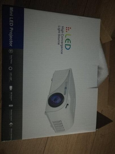 Rigal 瑞格尔RD-805 LED家用投影仪投影机微型高清 可选智能手机同屏无线蓝牙 银色蓝牙版-内置安卓wifi-蓝牙 标配 晒单图