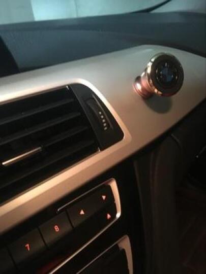 洛玛 多功能车载手机支架汽车用导航仪吸盘式出风口车内车上仪表台通用 蓝色  出风口手机支架 晒单图