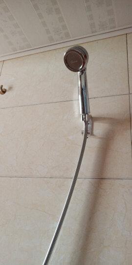固远花洒喷头套装增压节水淋浴喷头三件套含软管和太空铝支架 晒单图