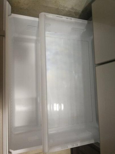 松下(Panasonic)日本进口多门冰箱  自动制冰 变频风冷无霜 银离子抗菌脱臭 NR-EC43VG-N5 晒单图