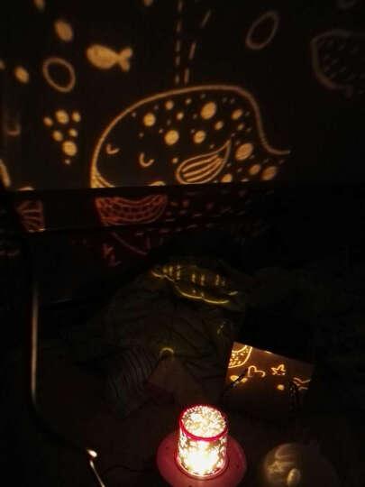 生日礼物女生情人节礼物送女友浪漫星空灯投影灯星光灯送老婆创意抖音同款实用表白抖音网红教师节礼物送老师 带蓝牙五色版(需印制照片) 晒单图