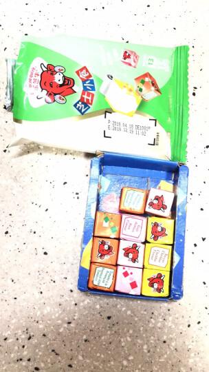 乐芝牛 芝士小食系列再制干酪(切达芝士味等)15粒 78g/盒 晒单图