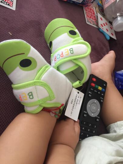 秋款宝宝学步鞋新品棉布软底鞋防滑功能鞋男女宝宝婴儿鞋 粉红兔 6-9个月(内长约12厘米) 晒单图