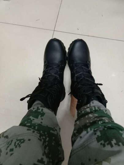 MAGNUM 马格南 MACH 2 马赫8寸轻型战术作战靴沙漠靴勤务鞋 黑色 42 晒单图