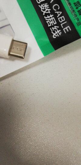 Capshi【两件装】Type-C数据线 安卓手机充电器电源线 1米黑+白 华为P10/荣耀V8/麦芒5/三星S8/小米5S6/乐视 晒单图