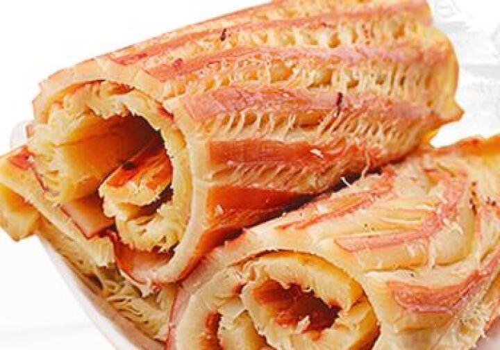 水娃娃 风琴鱿鱼丝碳烤鱿鱼片 150g 大连特产 晒单图