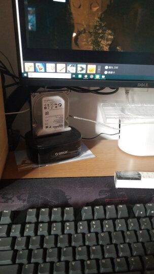 奥睿科(ORICO)硬盘座USB3.0四盘位脱机拷贝外置硬盘盒子2.5/3.5英寸SATA串口笔记本台式机硬盘底座6648US3-C 晒单图