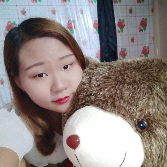 阳光猴 大号毛衣泰迪熊公仔抱枕毛绒玩具刺猬熊布娃娃抱抱熊大熊猫玩偶生日礼物女生 美国条纹旗毛衣刺猬熊 1.2米 晒单图
