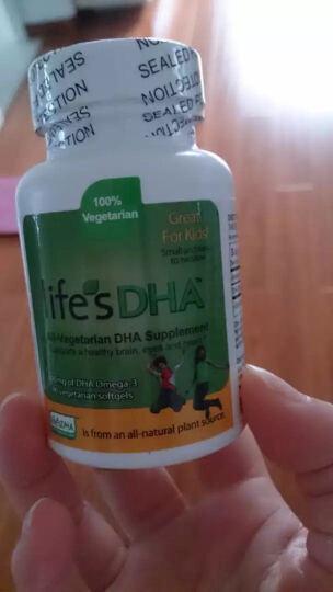 Life's DHA 美国正品 美国马泰克Martek婴幼儿DHA软胶囊宝宝海藻油90粒 单瓶 晒单图
