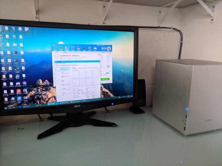 乔思伯(JONSBO)V4 黑色 MINI-MATX机箱(支持MATX主板/全铝机箱/ATX电源/120MM高内散热器/260MM长内显卡) 晒单图