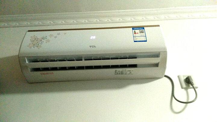 TCL 正1匹 定频冷暖(简约印花风尚)壁挂式 空调挂机 (KFRd-25GW/FC23+) 晒单图