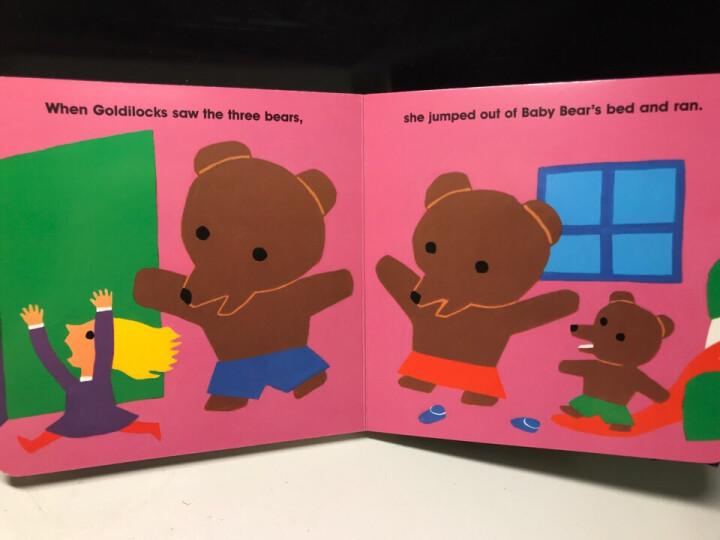 The Three BearsBoard Book三只小熊(纸板书) 晒单图