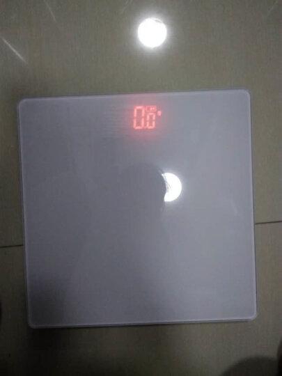 山鹰 SYE-916 充电式电子秤人体秤电子称体重秤家用 (曼妙黑) 晒单图