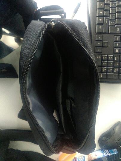 瑞动(SWISSMOBILITY)单肩包斜跨包 时尚商务休闲男女背包黑色MT-5701-02T00 晒单图
