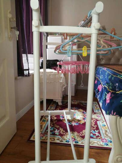 爱丽思IRIS 双杆伸缩升降晒衣架不锈钢室内落地置地折叠挂晾衣架 晒单图
