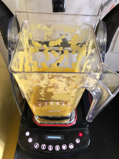 Blendtec 破壁机加热 多功能榨汁机料理机    果汁豆浆机 原汁机 搅拌机 奢华隔音款黑色800 晒单图