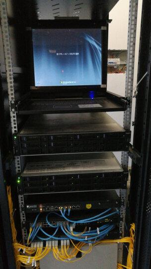 三拓 KVM切换器8口1口4口16口17英寸多电脑级联切换器USB/PS2混接数字kvm切换器机架式 TL-1704 17英寸液晶 4口 晒单图