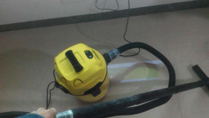 德国凯驰KARCHER桶式干湿两用吸尘器MV1带吹风功能大功率除尘机 官方标配 晒单图
