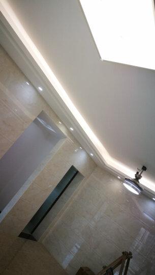 飞利浦LED灯带 高亮贴片灯条 客厅卧室厨房书房灯槽灯饰安全耐高温 标亮版1米暖白 晒单图