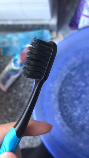 黑人(DARLIE)炭丝高密软毛成人牙刷 柔软刷毛呵护牙龈(小巧刷头深入清洁牙缝) 晒单图