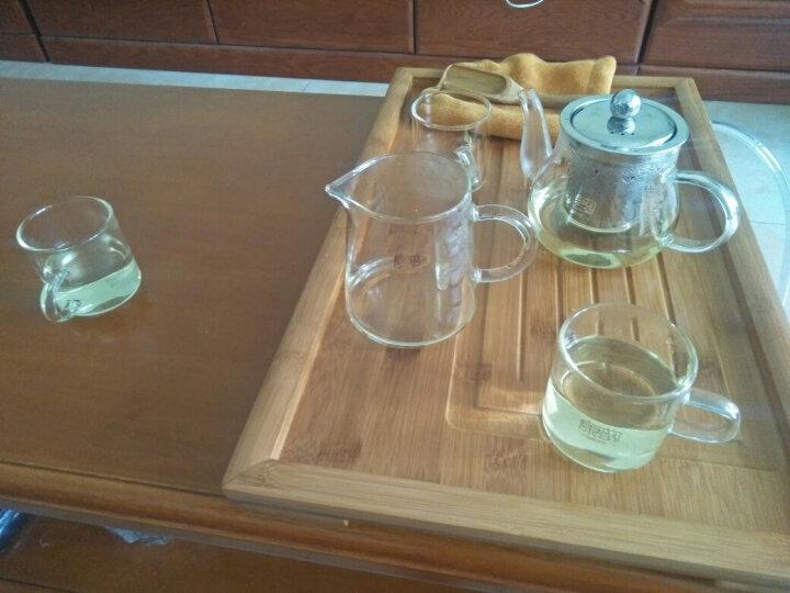 康韵 耐热玻璃茶具套装功夫茶具家用带过滤加厚耐高温玻璃泡茶壶透明花茶壶公道杯茶杯套装整套茶具 雅风壶直把杯+中平板茶盘套装 晒单图