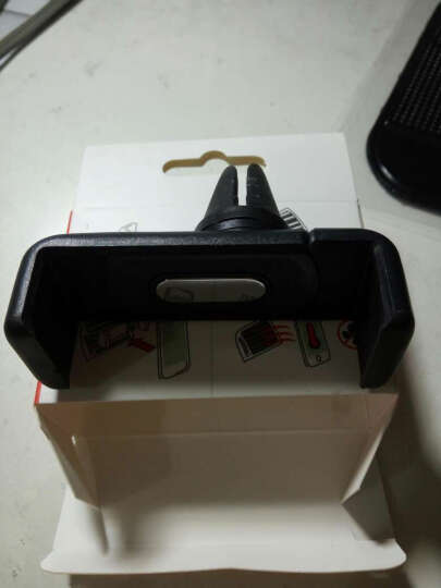 陆人行 车载导航仪支架 汽车出风口手机支架 车用手机座手机托 适用于ipad/ 吸盘折叠黑色 晒单图