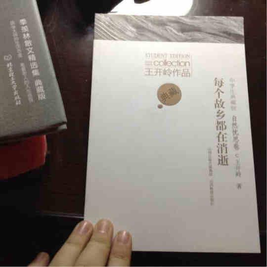 王开岭作品/亲爱的灯光(精神风光卷)(中学生典藏版) 晒单图