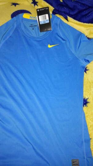 NIKE耐克  紧身T恤FIT速干短袖PRO紧身衣运动短袖 703095-010 M 晒单图