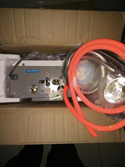 都太(Dutai)Q02即热式家用燃气热水器 强排式煤气热水器 低水压启动 提供安装 10升 数显金花款 液化气 晒单图