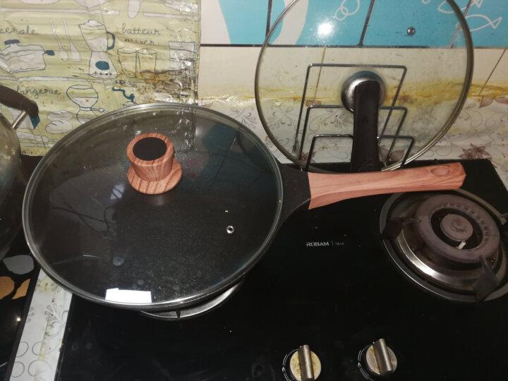九阳(Joyoung)炒锅30cm麦饭石少油烟不粘锅电磁炉通用锅具CLB3053D 晒单图