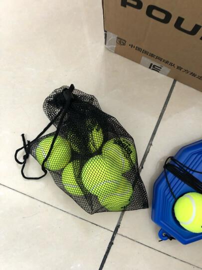 天龙 带线网球单人训练器 皮筋球弹力绳回弹球底座 底座+带线网球(带绳) 晒单图