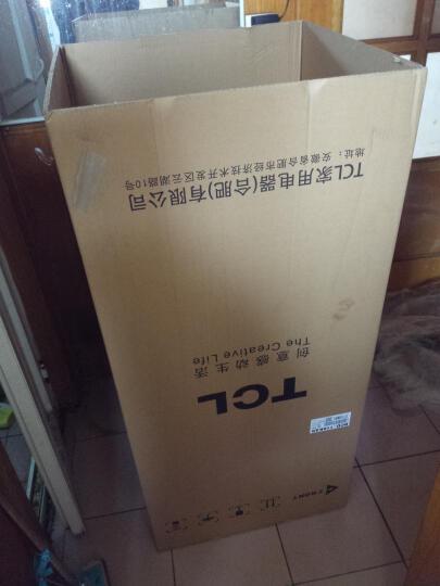 TCL 118升 小型双门电冰箱 LED照明 迷你节能 办公居家便捷之选 环保内胆 (芭蕾白)BCD-118KA9 晒单图