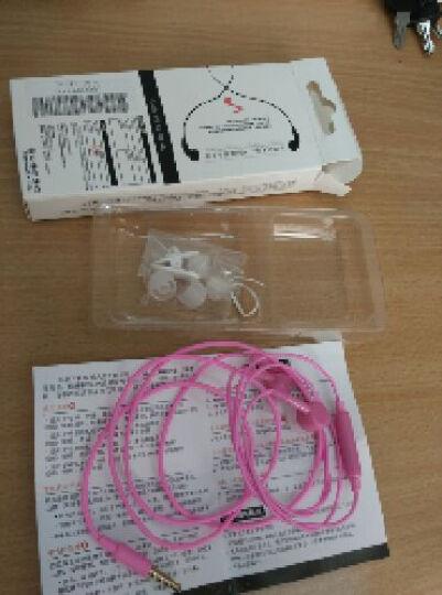 芙洛蒂 手机耳机入耳式 线控耳机小米4/4C/3/红米note耳机红米note2a/3耳机 紫色标准版 晒单图