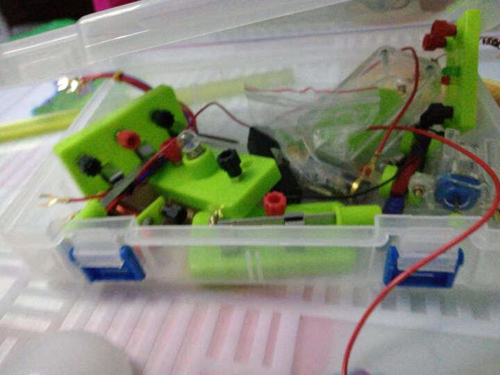 小学四年级下电路实验器材材料套装科学电学实验盒物理试验箱新款 晒单图