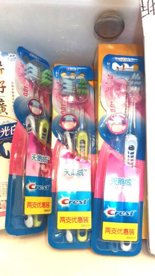 佳洁士(Crest)天鹅绒黑茶护龈牙刷两支优惠装 晒单图