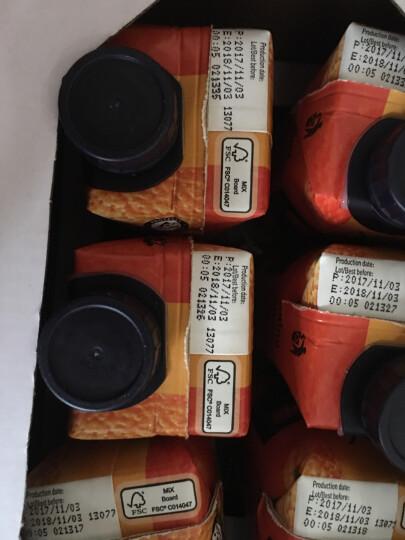 西班牙进口 NFC果汁 赞美诗(ZUMOSOL) 葡萄蓝莓草莓混合果汁100%纯果汁330ml*6瓶 礼盒装 晒单图