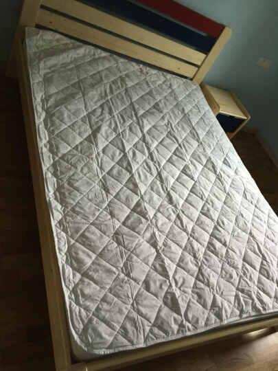 多喜爱(DUOXIAI) 多喜爱实木床儿童家具  儿童实木床 进口松木单人床双人床 红蓝色单床 1500*2000mm 晒单图