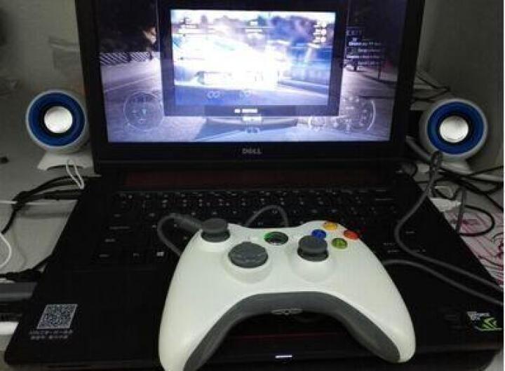 曼汀诺 XBOX360游戏手柄PC电脑USB双振动游戏手柄 白色 无线 晒单图