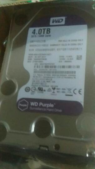 西部数据(WD) 紫盘4TB监控企业级DVR录相机4T机械硬盘WD40EJRX 晒单图