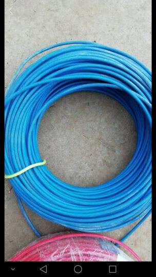 金龙羽 电线电缆ZR/ZC BVR2.5平方 国标铜芯线单芯多股软线 阻燃家装线100米 阻燃/红色多股 (软线) 火线 晒单图