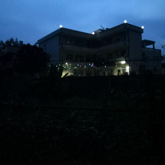 同心创辉 太阳能裂纹挂灯景点裂纹球悬挂灯草坪灯七彩装饰灯光控感应太阳能庭院灯观景灯树灯花园美化灯 太阳能裂纹吊灯-白光 晒单图
