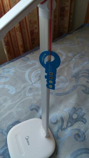 美的(Midea)LED台灯阅读学习宿舍卧室学生usb充电折叠礼品礼物创意定制节日装饰 晒单图