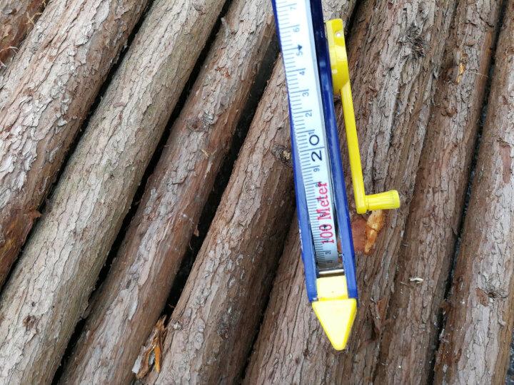 长城GreatWall皮卷尺软尺 玻璃纤维尺皮尺 五金工具 100米 晒单图