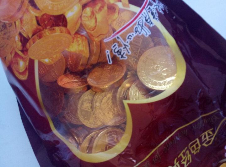 意芙金币巧克力散装500g金条金花生彩蛋足球形巧克力烘焙蛋糕装饰婚庆喜糖零食批发金元 宝(代可可脂) 金花生(1斤约80个) 晒单图